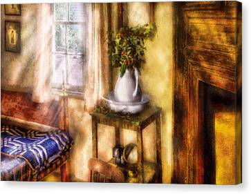 Winter - Christmas - Early Christmas Morning Canvas Print by Mike Savad
