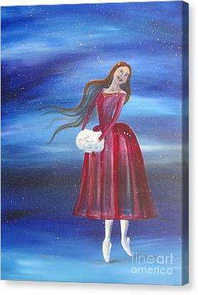 Winter Dancer3 Canvas Print