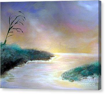 Winter Dawn 1 Canvas Print by Alys Caviness-Gober
