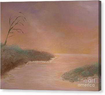 Winter Dawn Canvas Print by Alys Caviness-Gober