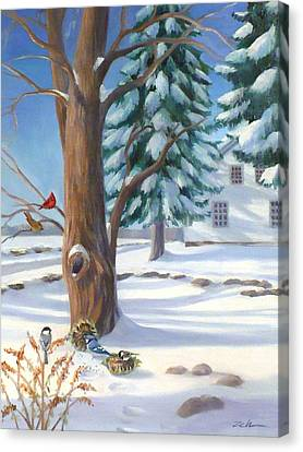 Winter Day Canvas Print