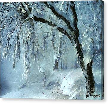 Winter Dreams Canvas Print