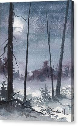 Winter Dreams Canvas Print by Sean Seal