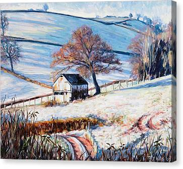 Winter Frost Canvas Print by Tilly Willis