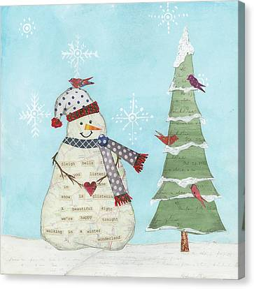 Winter Fun IIi Canvas Print by Courtney Prahl