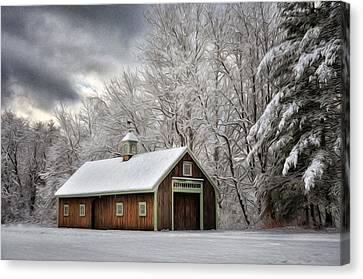 Winter Glow Canvas Print