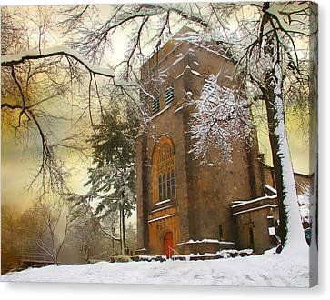 Winter Gothic Canvas Print by Jessica Jenney