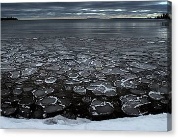 Winter In Sibley Canvas Print