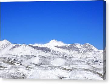 Winter Is Coming Canvas Print by Andrea Mazzocchetti