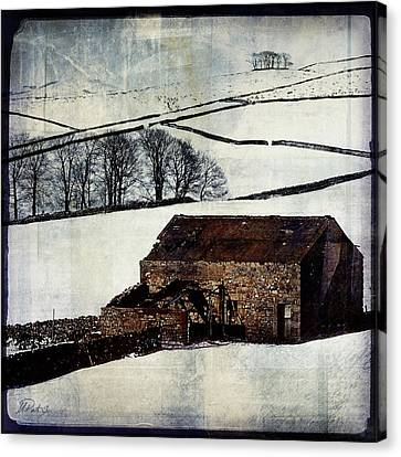 Winter Landscape 1 Canvas Print by Mark Preston