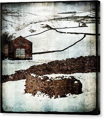 Winter Landscape 2 Canvas Print by Mark Preston