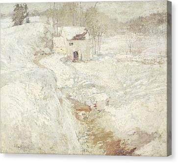 Winter Landscape Canvas Print by John Henry Twachtman