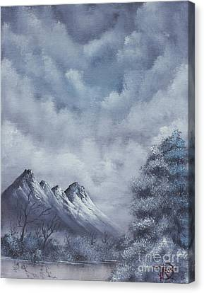 Winter Landscape Canvas Print by Troy Wilfong