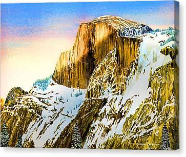 Winter Last Light Canvas Print by Douglas Castleman