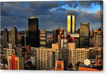 Winter Light In New York Canvas Print