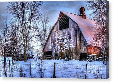 Winter Light Canvas Print by Thomas Danilovich