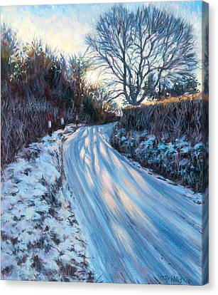 Winter Light Canvas Print by Tilly Willis
