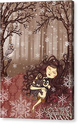 Winter Lullaby Canvas Print