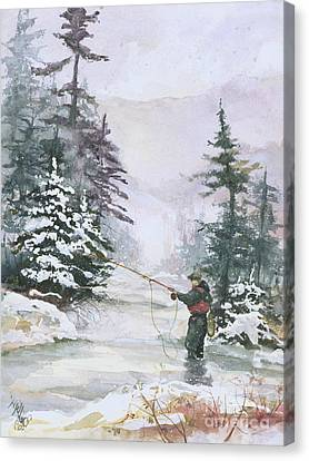 Winter Magic Canvas Print by Elisabeta Hermann