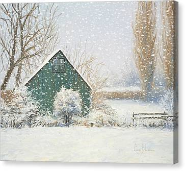 Winter Magic Canvas Print by Lucie Bilodeau