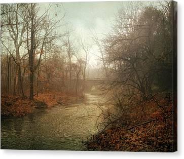 Winter Mist Canvas Print by Jessica Jenney