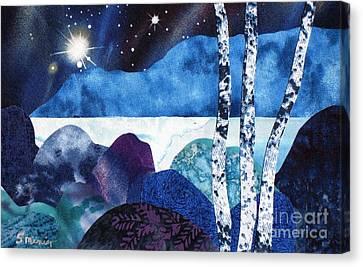 Winter Moon 2 Canvas Print