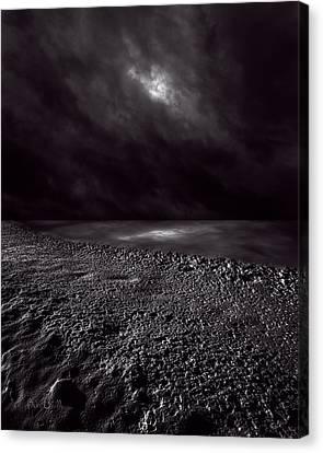 Winter Nightscape Canvas Print by Bob Orsillo