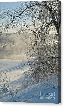 Canvas Print featuring the photograph Winter Pastorale IIi by Jessie Parker