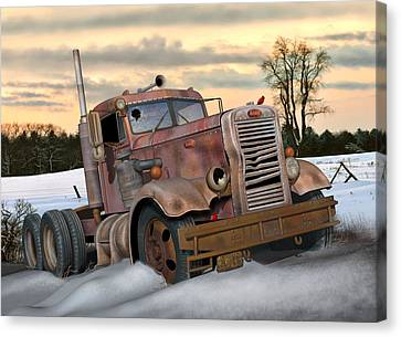 Winter Pete Canvas Print by Stuart Swartz