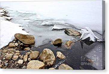 Canvas Print - Winter Quabbin by Randi Shenkman