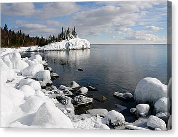 Winter Reflections Canvas Print by Sandra Updyke