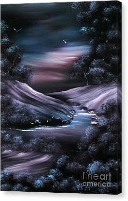 Winter Retreat 2 Sold Canvas Print