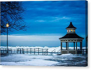 Winter Rhapsody Canvas Print by Sara Frank