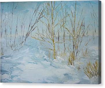 Canvas Print - Winter Scene by Dwayne Gresham