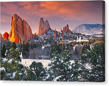 Winter Serenity Canvas Print by Tim Reaves