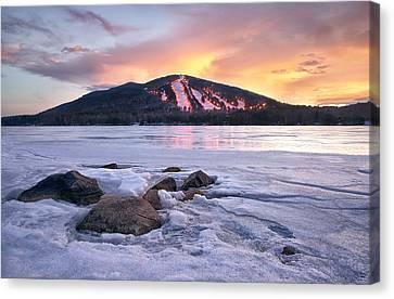 Winter Sky Canvas Print by Darylann Leonard Photography