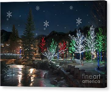 Winter Solstice 2014 Canvas Print