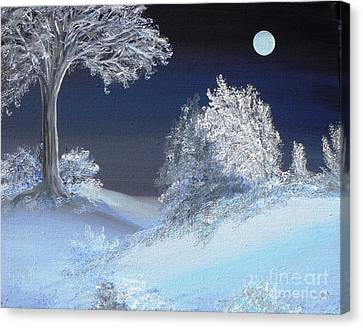 Winter Solstice Canvas Print by Alys Caviness-Gober