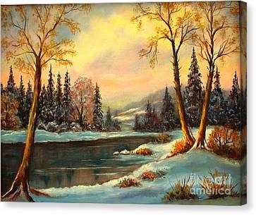 Winter Splendor Canvas Print