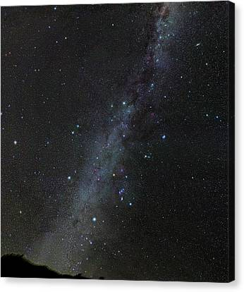 Winter Stars Without Light Pollution Canvas Print by Eckhard Slawik