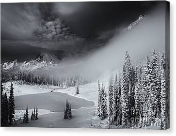 Winter Storm Clears Canvas Print