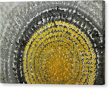 Winter Sun Original Painting Canvas Print