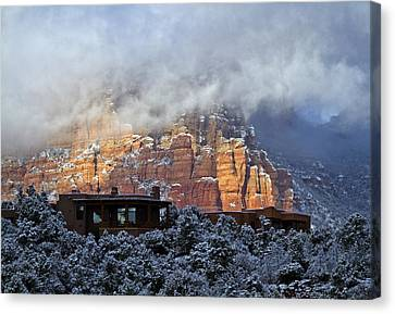 Winter View Canvas Print