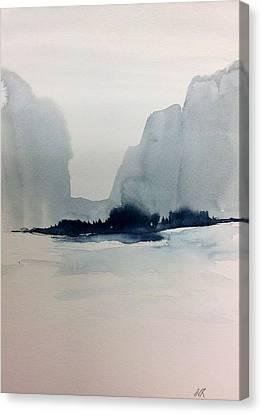 Winter Wash Canvas Print