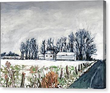 Winter Whisper Canvas Print by Patty Fleckenstein
