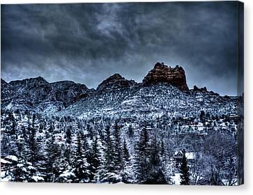 Winter Wonder Canvas Print by Bill Cantey