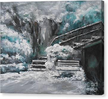 Winter Wonderland Canvas Print by Jane  See