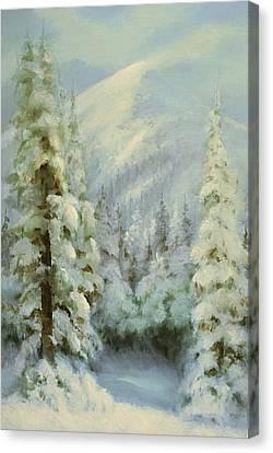 Winter Wonderland Canvas Print by Richard Hinger