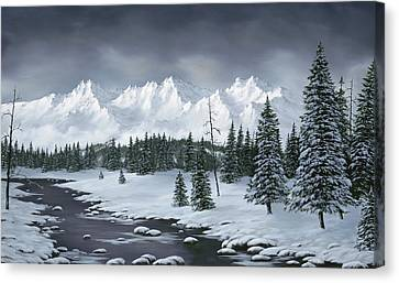 Snowscape Canvas Print - Winter Wonderland by Rick Bainbridge
