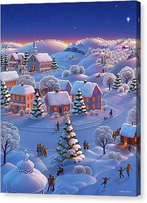 Fun Canvas Print - Winter Wonderland  by Robin Moline